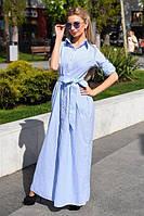 Платье женское длинное на пуговицах (К16942), фото 1