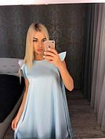 Платье женское летнее из шелка для беременных (К17365)