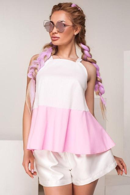 Оригинальная летняя блуза (К17496)