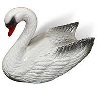 """Садовая фигура """"Лебедь"""" 29 см, садовые фигуры оптом, фигурка лебедь"""