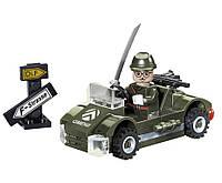 Конструктор Brick 803 Военная зона 51дет.,6+лет,в разобр.коробке 14*9*4,5 см.