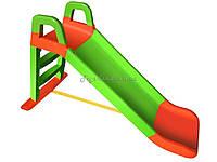SS Гірка для катання дітей  (140  см. / салат.-порам.), арт. 0140/04, Фламинго (Долони)