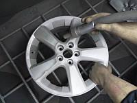 Очистка колесных дисков (пескоструйная обработка)