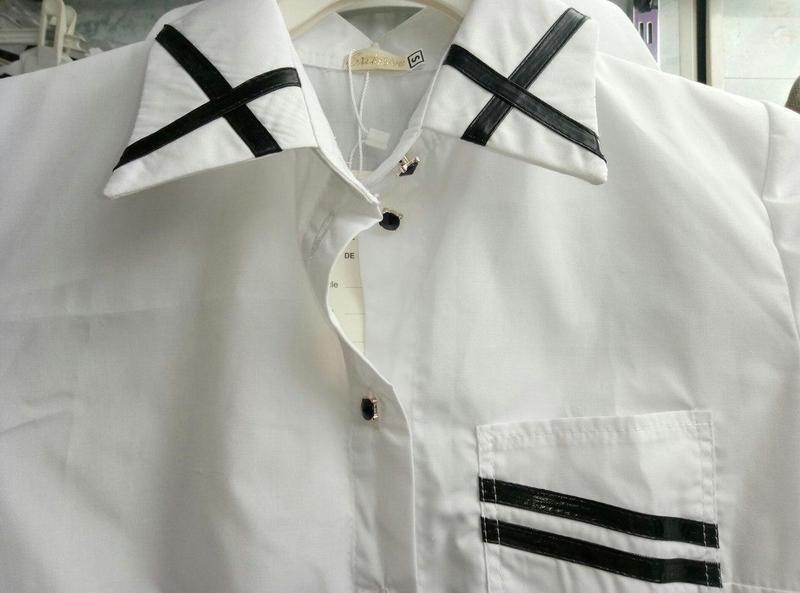 Классическая женская рубашка (К18367)