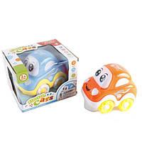 музыкальная игрушка детская Игрушечная машинка 2213-1 батар, 15*15*12 см.