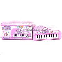 Музыкальный синтезатор детский орган HM557-18 в коробке 21*11*3 см.