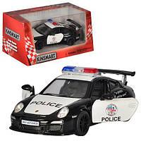 Машина метал. Porsche 911 GT3PoliceKT5352WP