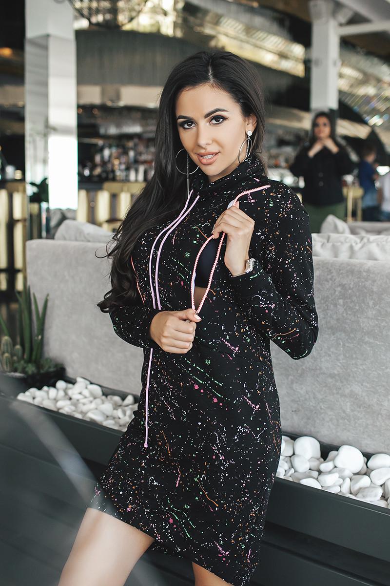 89c688da5d9 Купить Туника женская спортивная на молнии (К19011)  ...  в Украине