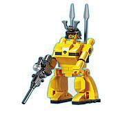Конструктор Brick 131  робот игровая фигурка 73 дет., в cобр. кор 14*10*5 см.