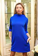 Платье женское короткое с молнией на спинке (К19202), фото 1