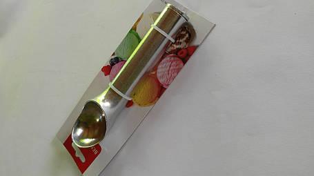 Ложка для мороженого алюминий, фото 2