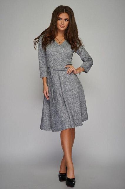 Платье женское короткое меланж (К19228)