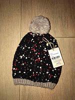 Зимняя шерстяная шапка для подростка (К19278)