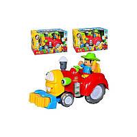 музыкальная игрушка детская Игрушечная машинка 213-1ABC (933163R) 3 вида микс,  русский язык песня, батарейки ,в коробке  26*15,5*12 см.