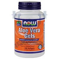 NOW Aloe Vera Gels 5000 mg для жкт нормализация микрофлоры пробиотики для пищеварения