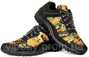 40 р Мужские камуфляжные кроссовки на протекторной подошве (Кз-16зн)