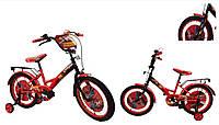 Велосипед детский 2-х колес 16'' 181616  со звонком,зеркалом,руч.тормоз