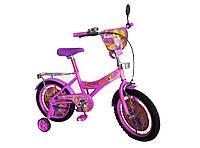 Велосипед детский 2-х колес 16'' 171644  со звонком,зеркалом,руч.тормоз
