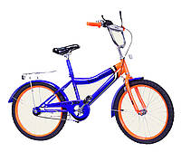 Велосипед детский 2-х колес 20'' 172035  со звонком,зеркалом,руч.тормоз,без доп.колес