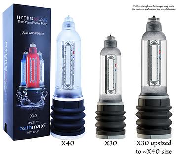 Bathmate hydromax x30 eXtreme гидропомпа