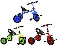Велосипед детский 3-х колес 1812  3 цвета, красный, голубой, зеленый