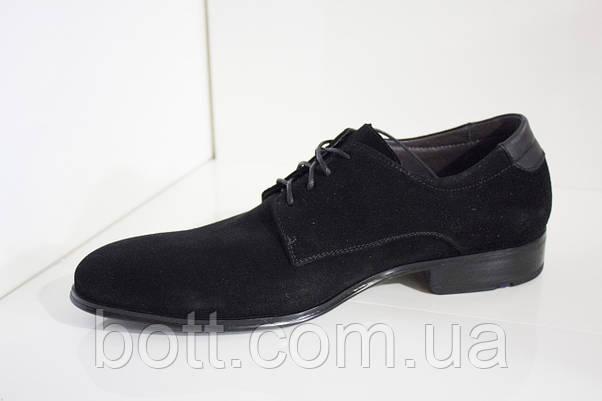 Осенние туфли мужские кожаные, фото 2