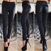 Лосины женские из стрейч джинса (К19722), фото 1