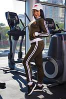 Костюм спортивный женский замшевый (К19730), фото 1