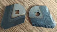 Нож сегментный к роторной косилке (1 шт.)