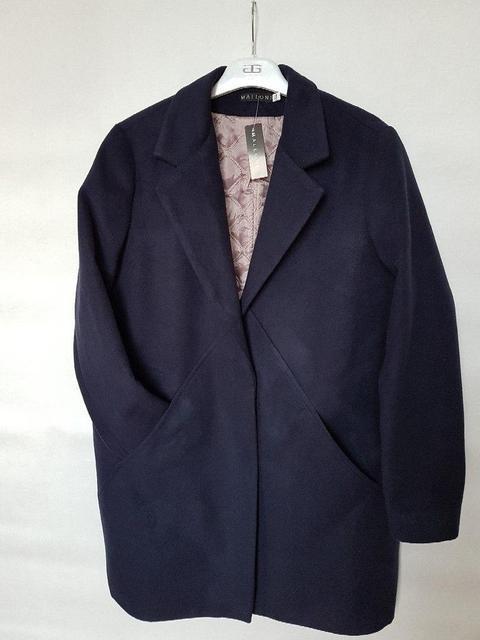 Пальто женское кашемировое свободного кроя (К19778)