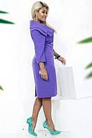 Платье-миди декорировано пуговицами (К19796), фото 1