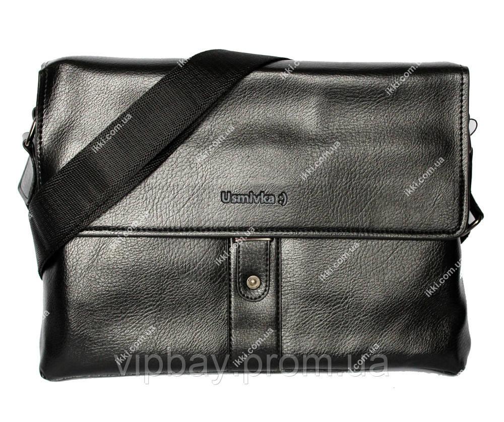 Качественная мужская сумка через плечо (54328)