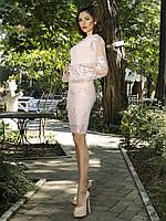 Вечернее женское платье с вышивкой (К19837), фото 1