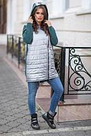 Стильная женская куртка с капюшоном (К19838), фото 1