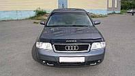 Audi A6 Дефлектор капота мухобойка на для AUDI Ауди A6 (4В, С5) 1997-2004