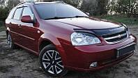Chevrolet Lacetti Дефлектор капота мухобойка на для CHEVROLET Шевроле Lacetti 2003- /седан, универсал