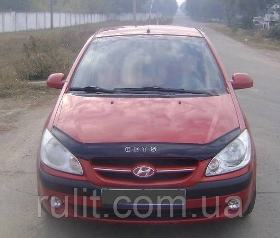 Hyundai Gets Дефлектор капота мухобойка для HYUNDAI ХУНДАЙ Хендай Gets 2005-