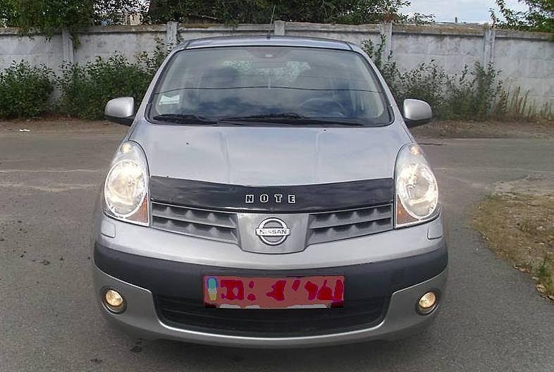 Nissan Note Дефлектор капота мухобойка на для NISSAN Ниссан Note 2006-2009