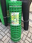 Пластиковая сетка заборная 1 х 20 (50х50мм), фото 2
