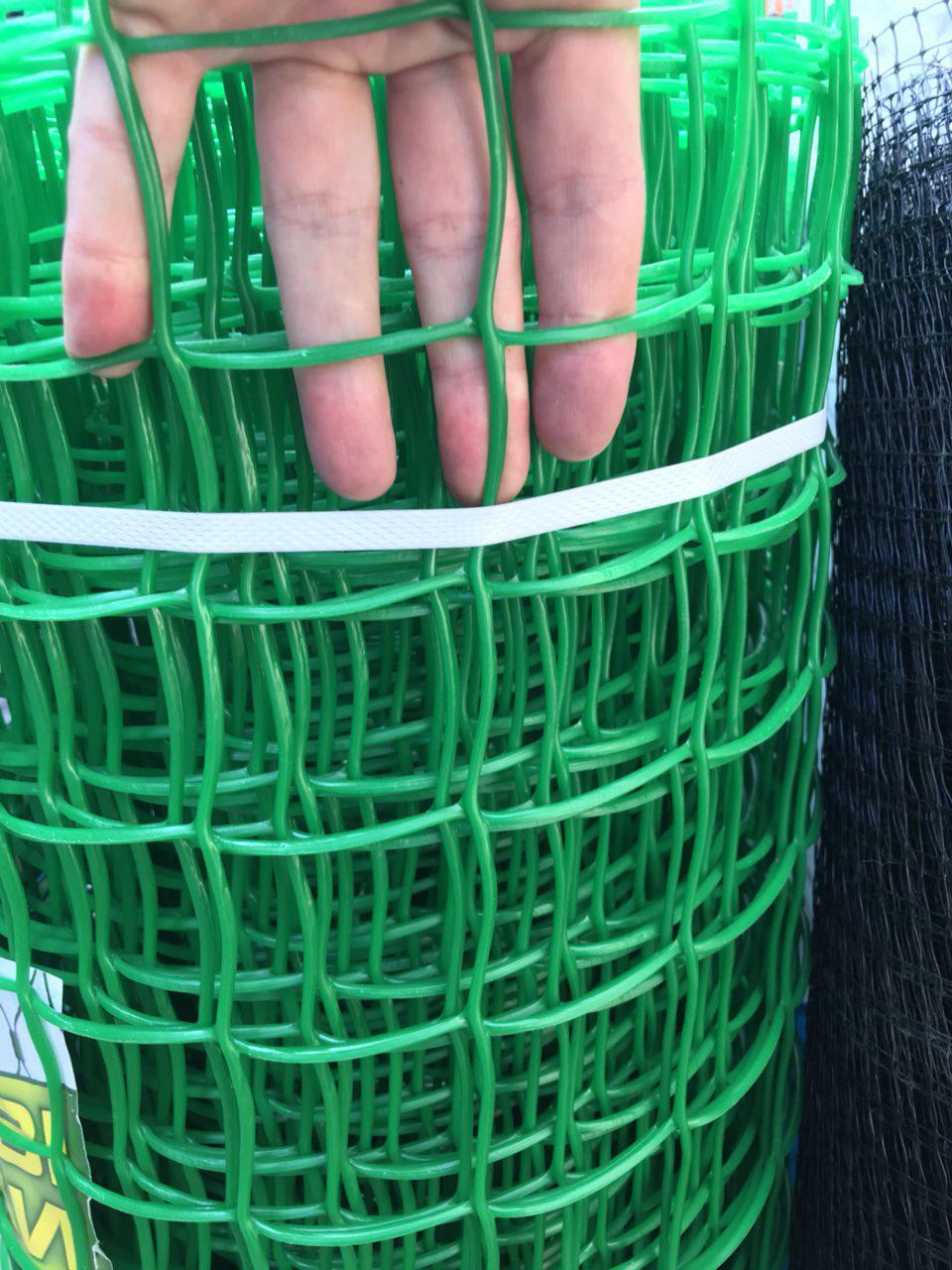 Пластиковая сетка заборная 1 х 20 (50х50мм)