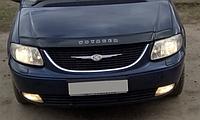 Chrysler Voyager Дефлектор капота мухобойка на для CHRYSLER Крайслер Voyager V 2008–2010
