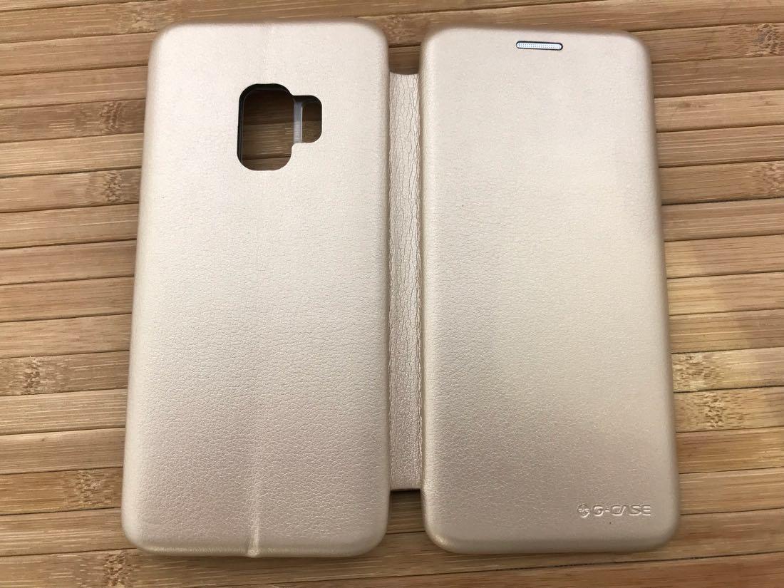 Чехол G-Case Samsung S9 G960 gold Galaxy