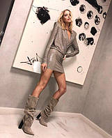 Платье-мини на дискотеку (К20118)