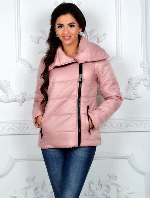 Демисезонная женская куртка косуха (К20153)