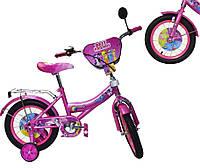 Велосипед детский 2-х колес 12 181221  со звонком, зеркалом,без ручного тормоза