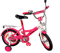 Велосипед детский 2-х колес 14'' 171431  со звонком,зеркалом,руч.тормоз