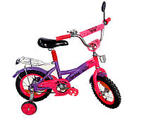 Велосипед детский 2-х колес 14'' 171432  со звонком,зеркалом,руч.тормоз