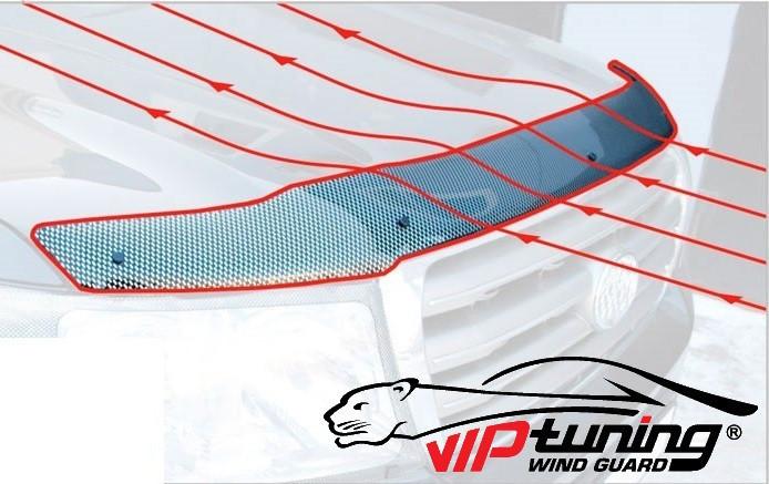 BRILLIANCE V5 Дефлектор капота мухобойка на для Brilliance V5 2011