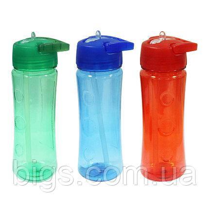 Бутылка с носиком 500 мл Прогулочная ( спортивные бутылки )