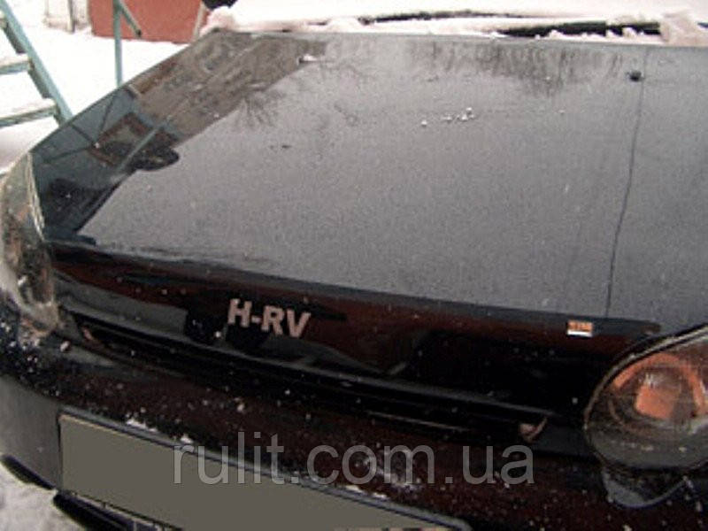 HONDA HR-V Дефлектор капота мухобойка на для HONDA Хонда HR-V 1999-2005 logo